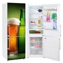 Adesivi per frigoriferi birra gelata