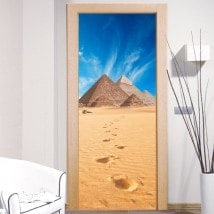 Adesivi da parete decorativi piramidi di Giza