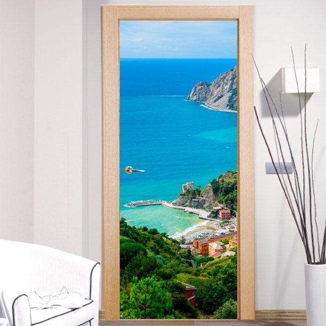 Vinile per porte Monterosso al Mare