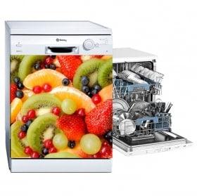 Adesivi frutti lavastoviglie
