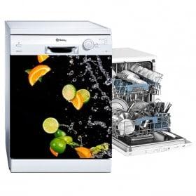 Vinilici lavanderie arance e limoni