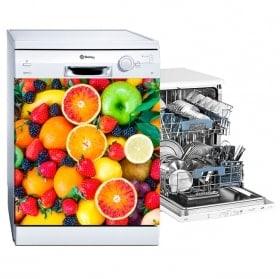 Frutta adesivi e vinile per lavastoviglie