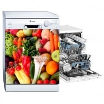 Adesivi lavastoviglie frutta e verdura