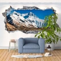 Adesivi da parete 3d Everest