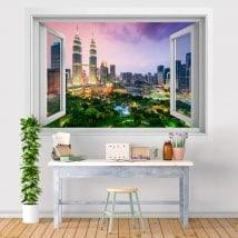 Finestre in vinile 3D Kuala Lumpur Malaysia