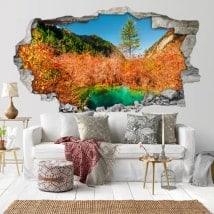 Adesivi 3D colore della natura