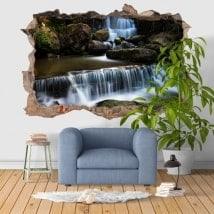 Adesivi da parete 3D cascata Fervença Portugal
