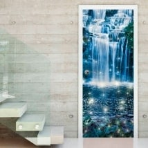 Adesivi porta cascata magica