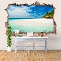3D adesivi paradiso tropicale