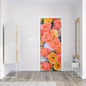 Vinili e adesivi porta rose e fiori