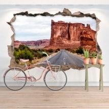 Adesivi da parete 3D parco nazionale degli archi