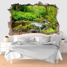 Adesivi Galles Snowdonia parco nazionale 3D