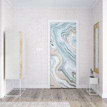 Vinili per porte colori marmorei
