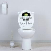 Vinili WC nascondere il mostro