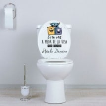 Vinili WC se stai per pisciare di risate