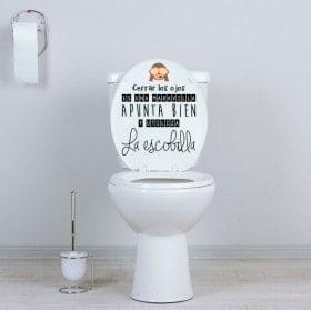 Adesivi WC bagni mira bene