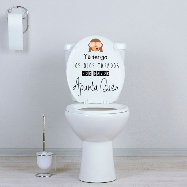 Vinile bagni WC mira bene