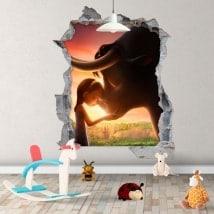 Vinile per bambini Ferdinando 3D