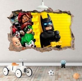 Vinili per bambini Batman lego 3D