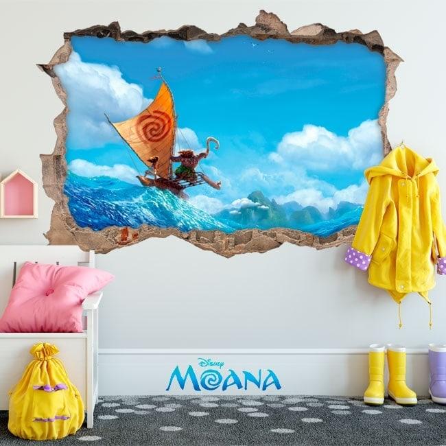 Disney vinile per bambini Moana 3D