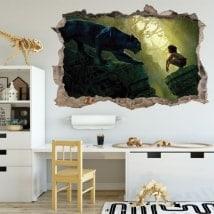 Vinile per bambini il libro della giungla 3D