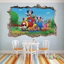 Vinili per bambini Mickey Mouse ei suoi amici 3D