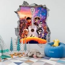Decalcomanie per bambini Coco Disney Pixar