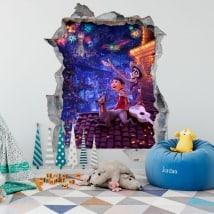 Vinile 3D per bambini Disney Pixar Coco