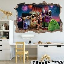 Sticker murale Hotel Transylvania 3D