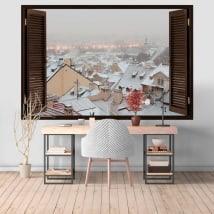 Murales Inverno a Praga 3D