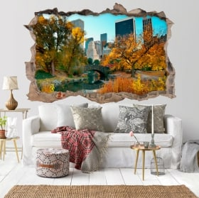 Vinili adesivi Central Park New York 3D