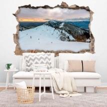 Vinile Invernali montagne Slovenia 3D