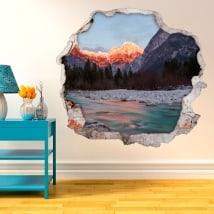 Vinile pareti natura in Slovenia 3D