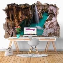 Vinili cascate in Slovenia 3D