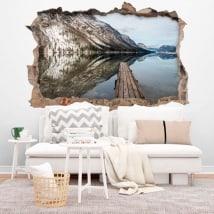 Vinili lago Bohinj Slovenia 3D