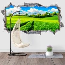 Vinile decorativo natura 3D