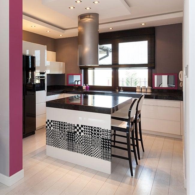 Vinili piastrelle per cucine e bagni for Piastrelle vinile