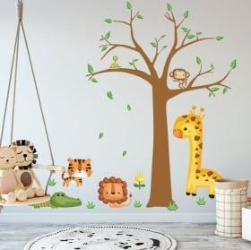 Vinile per bambini e adesivi animali