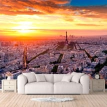 Murales di vinile città di Parigi