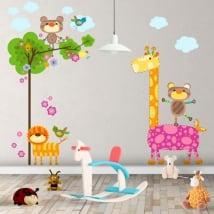 Vinile per bambini natura degli animali
