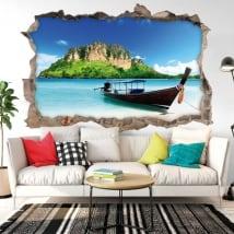 Vinile decorativo spiagge della Tailandia 3D