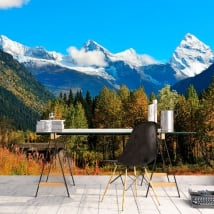 Murales Canada parco nazionale Banff