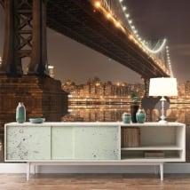 Murales New York ponte Manhattan
