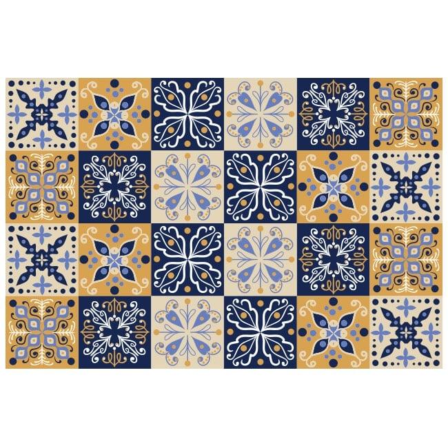 Vinile decorativo piastrelle di muri for Piastrelle in vinile
