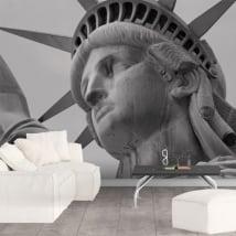 Adesivi murali statua della Libertà