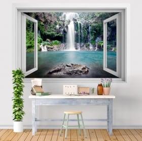 Vinili cascate Reunion Island 3D