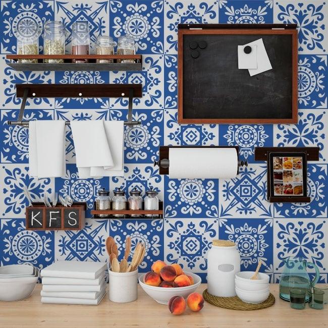 Vinili adesivi mattonelle della parete for Adesivi per mattonelle