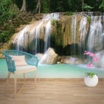 Murales cascate della Thailandia