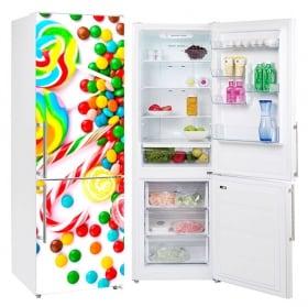 Vinili per frigoriferi e oggetti caramelle