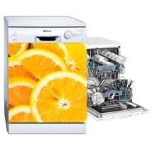 Vinili lavastoviglie arance